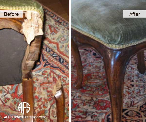 Antique Chair Leg Repair