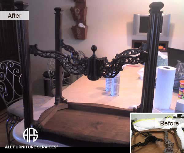 Antique Table Frame Restoring