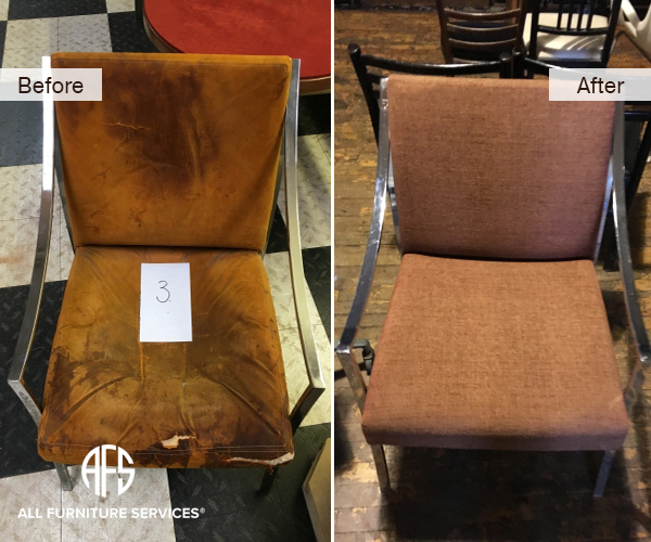 ArmChair Re-padding Refinishing and Upholstery