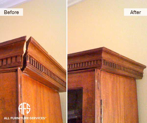 Armoir Molding Repair