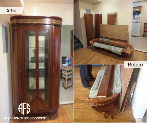 Armoire China Assembly Take Apart Restoration