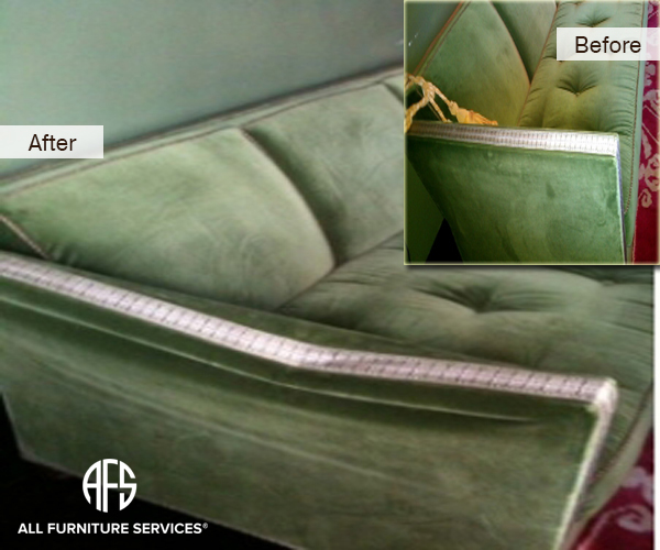 Broken Sofa Couch Arm Repair