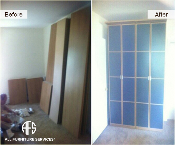 Cabinet Armoire Assembly wall unit