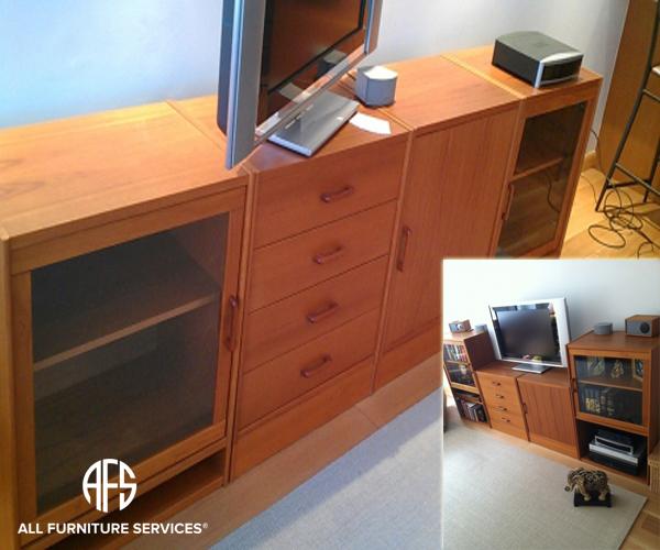 Cabinet re-size customizing