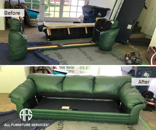 Furniture Leather Sofa Bed Couch Disassembly Assembly Take Apart Break Down Do not fit moving tight small elevator door