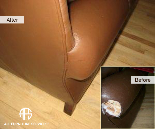 Leather Bite Animal Dog Damage Repair Patch Arm