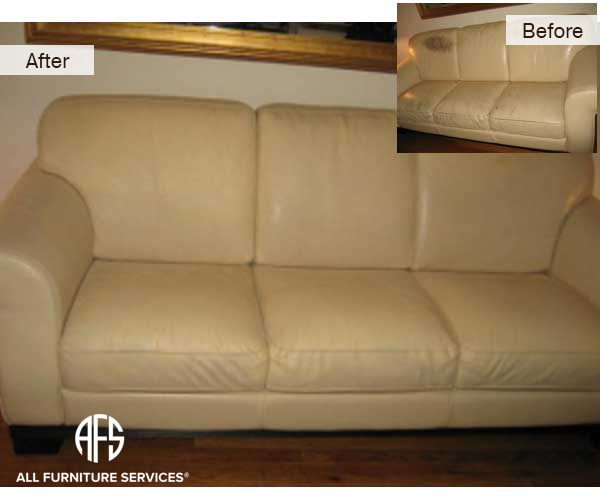 Leather Couch Redying