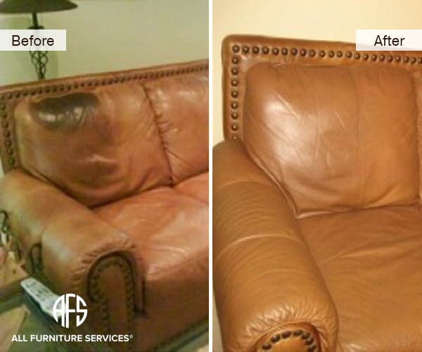 Leather Discoloration repair