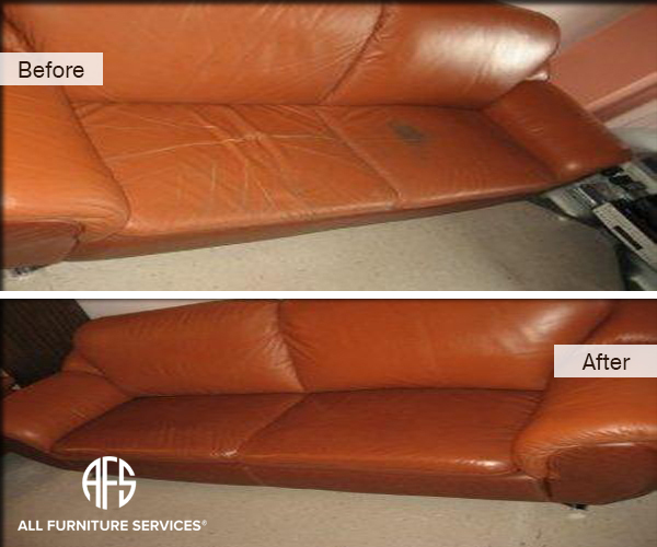 Leather Seat Sofa Dyeing Stain removal