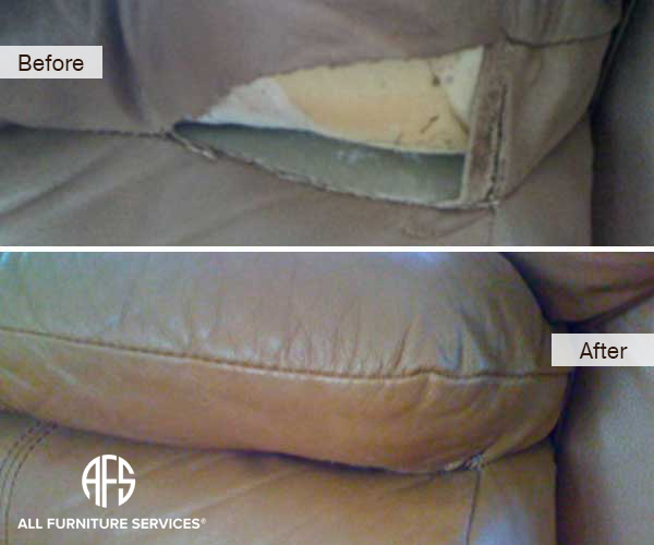 Leather Sofa Tear Repair