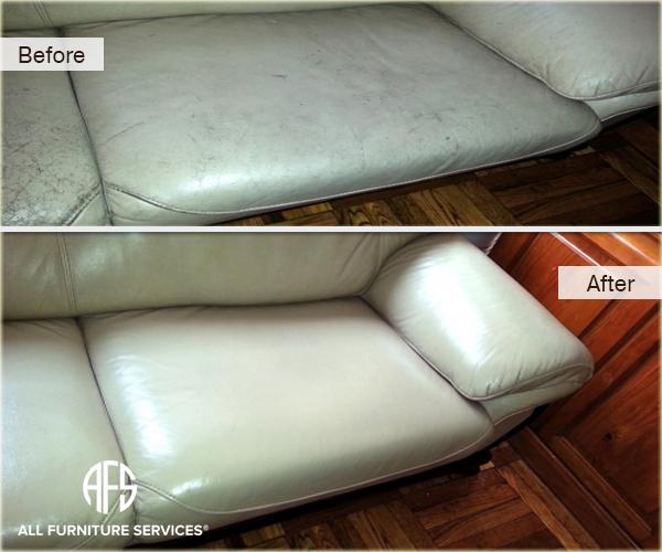 Leather dye worn colro restoration