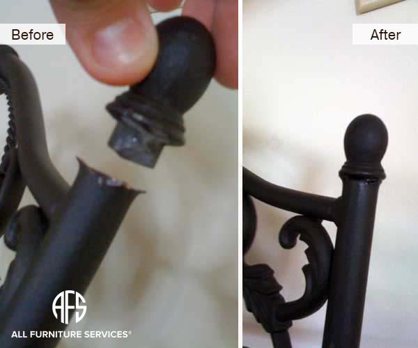 Metal Chair Back Crown Repair