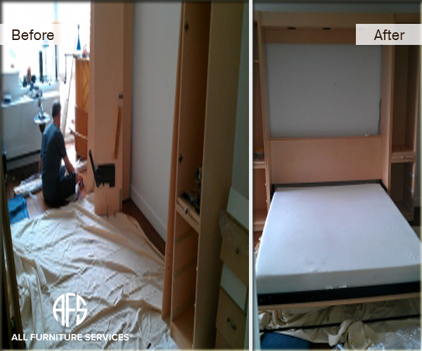 Murphy Bed Assembly installation