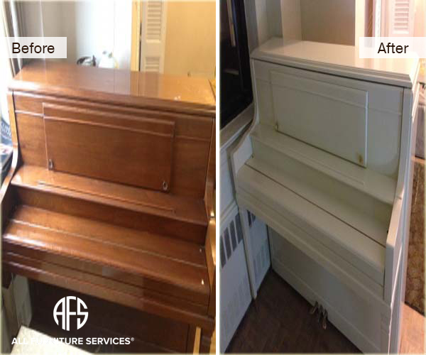PIANO Refinishing Color change