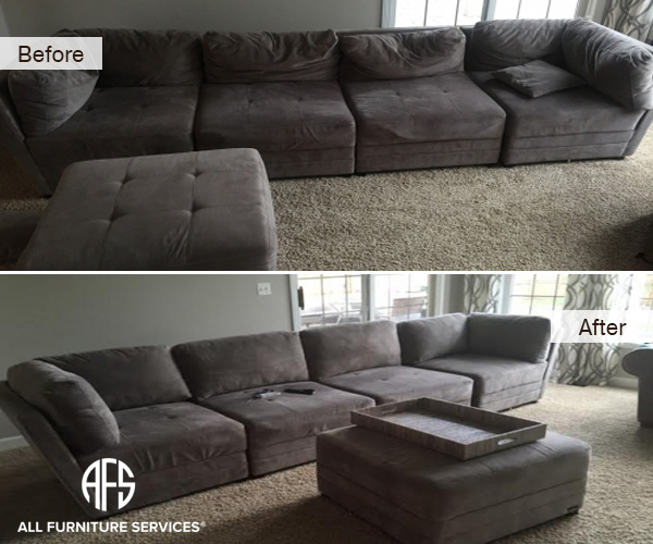 Sectional Cushions Pillows adding replacing padding foam cores down shape comfort support sofa