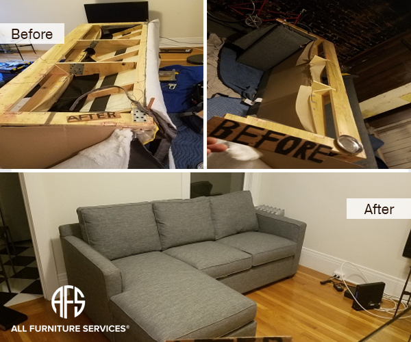 couch disassembly furniture disassembling sectional take apart sofa bed sleeper loveseat do not fit moving break down