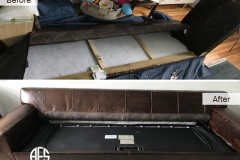 Leather-sofa-bed-couch-disassembly-disassembling-dismantling-to-fit-furniture-to-tight-small-door-elevator-Assemble-and-reassemble-sofa-disassemble