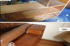 New York Cabinet Refinishing color change furniture