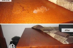 Nightstand Top Damage Repair