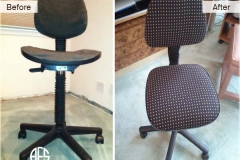 Office Chair upholstery change