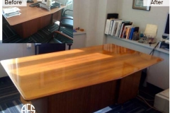 Office Desk Refinishing