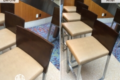 Restaurant Hospitality Commercial Bar Furniture Chairs Repair Maintenance Touch-up Finishing