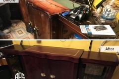 cabinet-dresser-furniture-desk-table-restoration-furniture-refinishing-wood-leather-top-hardware-hinges-stain-color-change